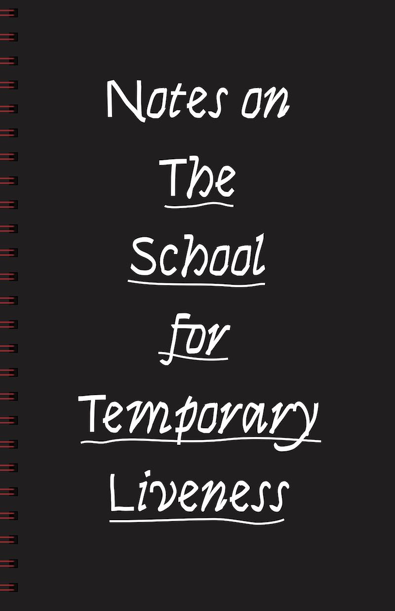 Notes on The School For Temporary Liveness