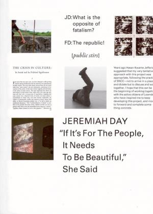 """""""If It's For The People, It Needs To Be Beautiful,"""" She Said - cover image"""