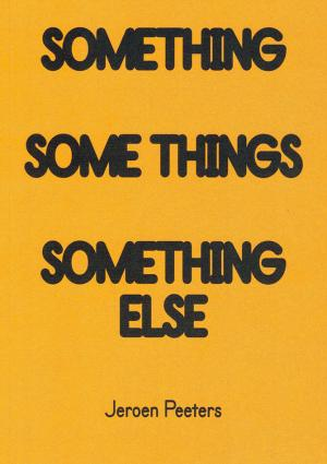 Something Some Things Something Else - cover image