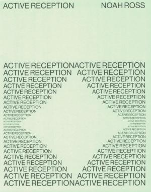 Active Reception - cover image